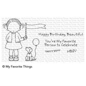 My Favorite Things Pure Innocence Birthday Buddies Stamp Set