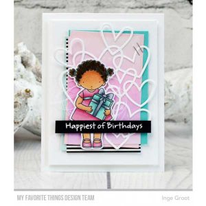 My Favorite Things Pure Innocence For the Birthday Girl Stamp Set class=