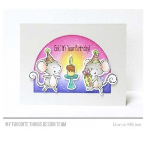 My Favorite Things It's a Mice Time to Celebrate Stamp Set class=