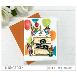 Neat & Tangled Piece of Cake Sentiments Stamp Set class=
