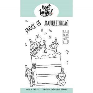 Neat & Tangled Piece of Cake Stamp Set