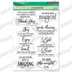 Penny Black Sentiments Stamp Set
