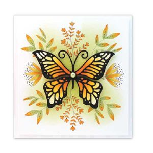 Penny Black Butterfly Garden Stamp Set class=