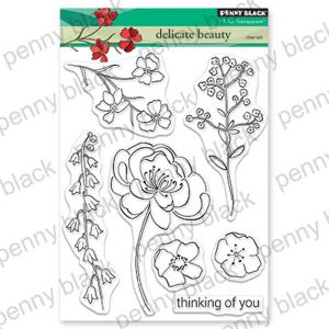 Penny Black Delicate Beauty Stamp Set