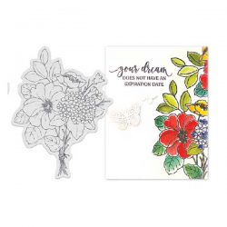 Penny Black Bouquet Ballet Stamp