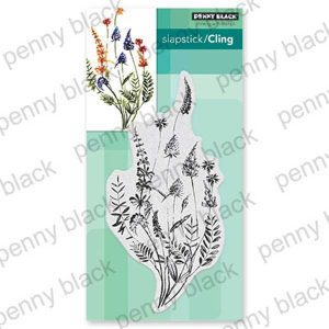 Penny Black A Floral Twist Stamp