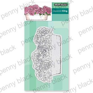 Penny Black Rose Garden Stamp
