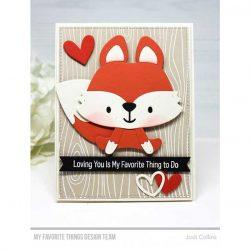 My Favorite Things Friendly Fox Die-namics