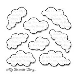 My Favorite Things Puffy Clouds Die-namics