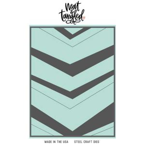 Neat & Tangled Wonky Chevron Cover Plate