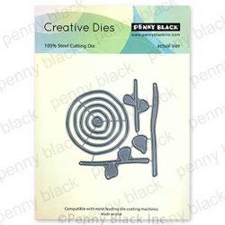 Penny Black Abstract Flowers Creative Dies