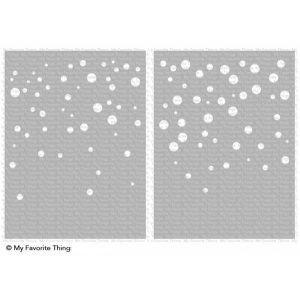 My Favorite Things Card Sized Confetti Stencil Set