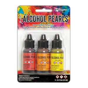 Tim Holtz Alcohol Ink Pearls - Kit#1 class=