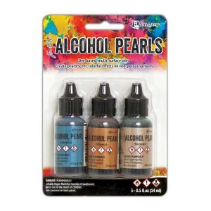 Tim Holtz Alcohol Ink Pearls – Kit#4 class=