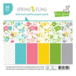 Lawn Fawn Spring Fling Petite Paper Pack