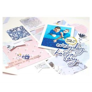 Pinkfresh Studio Indigo Hills 2  Paper Collection class=