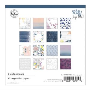 Pinkfresh Studio Indigo Hills 2  Paper Collection