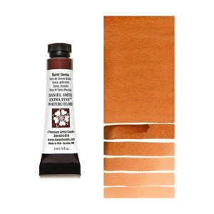 Daniel Smith 5ml Extra Fine Watercolor – Burnt Sienna class=