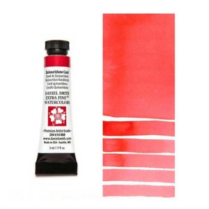 Daniel Smith 5ml Extra Fine Watercolor – Quinacridone Coral class=