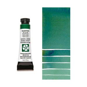 Daniel Smith 5ml Extra Fine Watercolor – Cascade Green class=