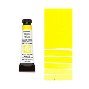 Daniel Smith 5ml Extra Fine Watercolor – Lemon Yellow class=