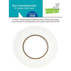 "Lawn Fawn 1/8"" Double-Sided Tape"