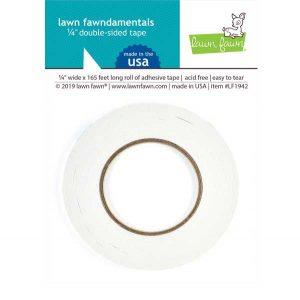 Lawn Fawn 1/4″ Double-Sided Tape