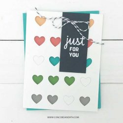 Concord & 9th Dotted Fill-In Stamp Set
