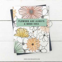 Concord & 9th Fine Line Florals Dies