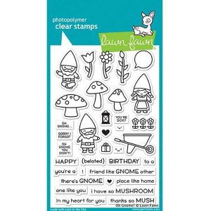 Lawn Fawn Oh Gnome! Stamp Set