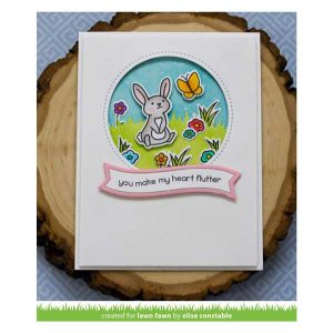 Lawn Fawn Butterfly Kisses Stamp Set class=