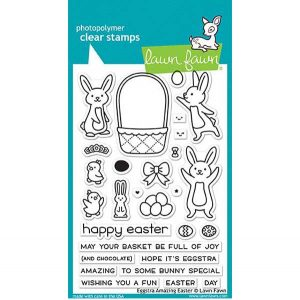 Lawn Fawn Eggstra Amazing Easter Stamp Set