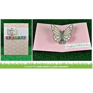 Lawn Fawn Open Me Stamp Set class=