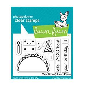 Lawn Fawn Year Nine Stamp Set