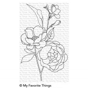 My Favorite Things Fresh Cut Flowers Stamp