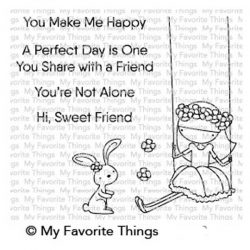 My Favorite Things Sweet Friends