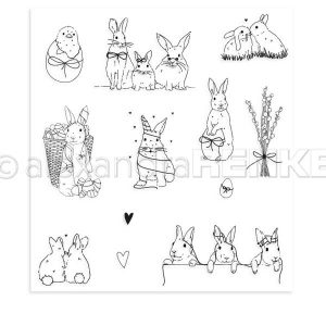 Alexandra Renke Easter Bunny and Friends Stamp Set