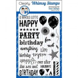 Whimsy Stamps Happy Everything Stamp Set