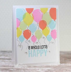 Whimsy Stamps Happy Everything Stamp Set class=