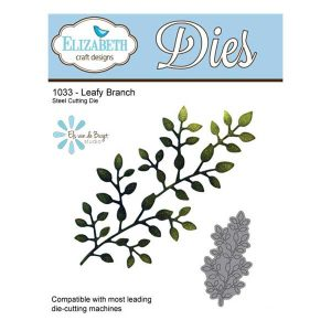 Elizabeth Craft Designs Leafy Branch Die