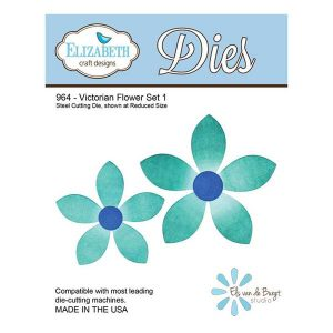 Elizabeth Craft Designs Victorian Flower Set 1 Dies