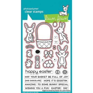 Lawn Fawn Eggstra Amazing Easter Lawn Cuts class=