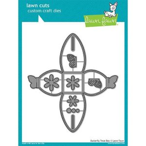 Lawn Fawn Butterfly Treat Box Lawn Cuts