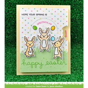 Lawn Fawn Reveal Wheel Spring Sentiments Stamp Set class=