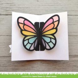 Lawn Fawn Pop-Up Butterfly Lawn Cuts