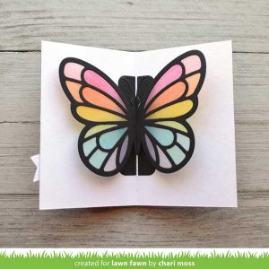 Lawn Fawn Pop-Up Butterfly Lawn Cuts class=