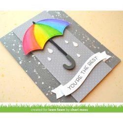 Lawn Fawn Wavy Sayings Stamp Set