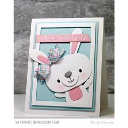 My Favorite Things Cottontail Cutie Die-namics