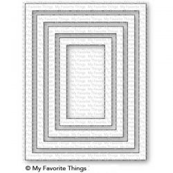 My Favorite Things A2 Rectangle Frames Die-namics