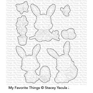 My Favorite Things Easter Bunnies Die-namics